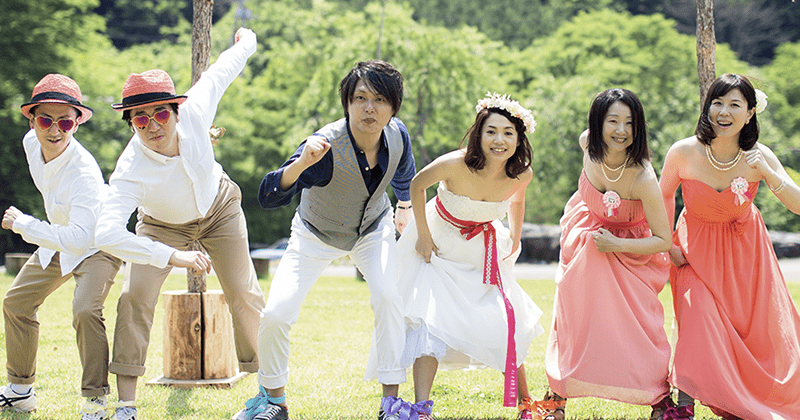 WEDDING PARTY&SPORTS FESTIVAL 大人の運動会