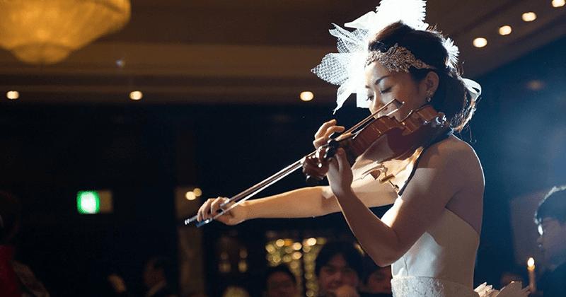 音楽を楽しむ大人の晩餐会WEDDING