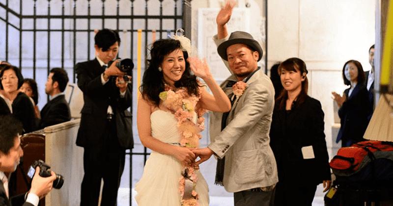 『融合』WEDDING 〜人が行き交う町〜